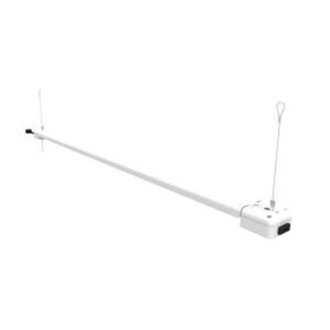 commercial electric 4 ft 1 l 30 watt white integrated