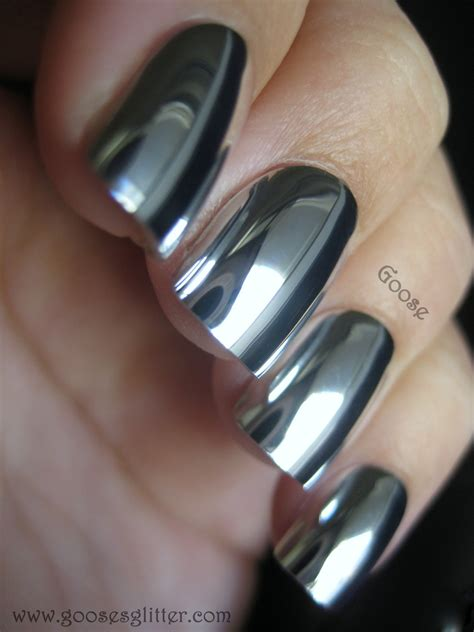 Chrome Nail Polish On Pinterest Metallic Nail Polish | liquid silver nail polish nail bliss silver chrome
