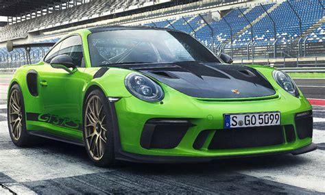 Preis Porsche Gt3 by Porsche 911 Gt3 Rs Facelift Genfer Autosalon 2018