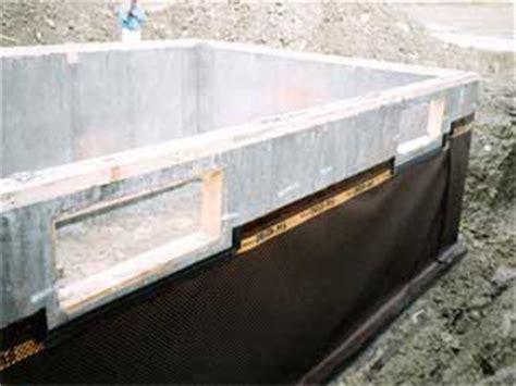 basement waterproofing new construction new basement and foundation construction in