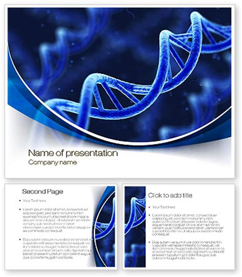 dna powerpoint template 3d dna powerpoint template poweredtemplate 10471