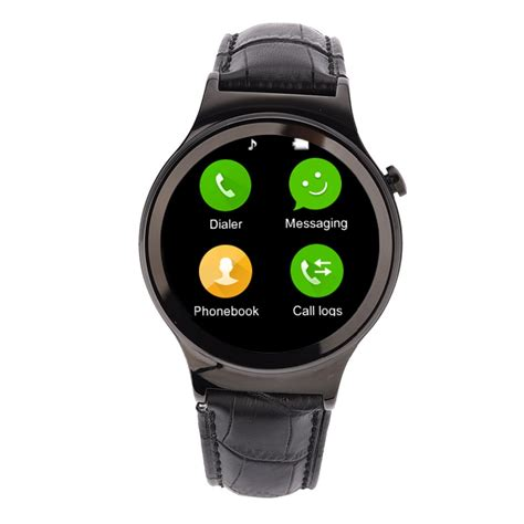 Smartwatch L1 Bluetooth 4 0 Mtk2502 Support Sim Card For Ios Android new smart t3 plus smartwatch bluetooth4 0