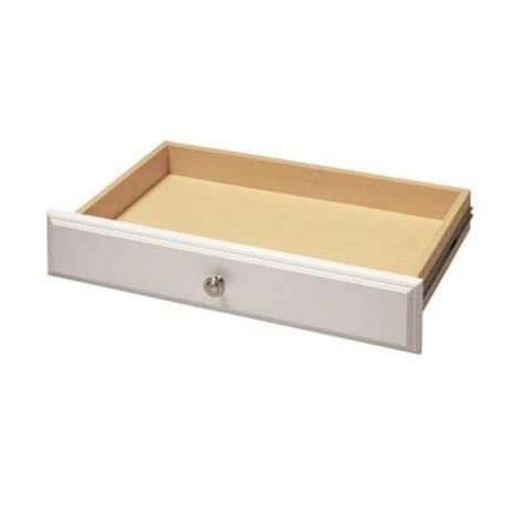 Drawer Kits Home Depot by Martha Stewart Living 4 In X 24 In Classic White Deluxe