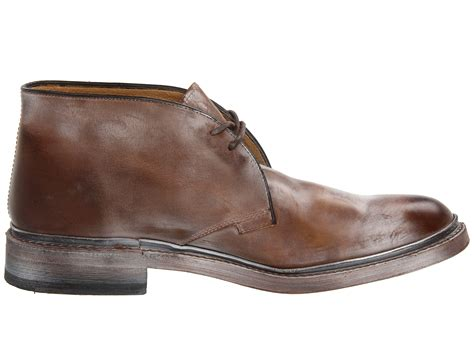 play by play chukka brown frye chukka in brown for lyst