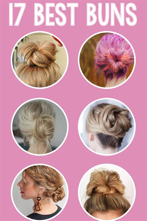17 Best Images About Buns And More On Pinterest Keisha | 17 best bun hairstyles