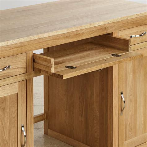 oak furniture land computer desk bevel solid oak computer desk oak furniture land