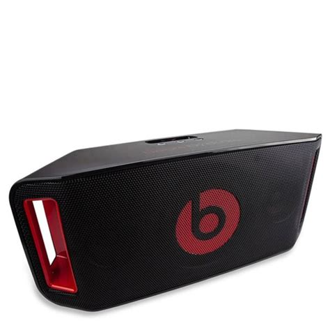 Speaker Beatbox Bluetooth Original beats by dr dre beatbox portable wireless bluetooth speaker black manufacturer refurbished