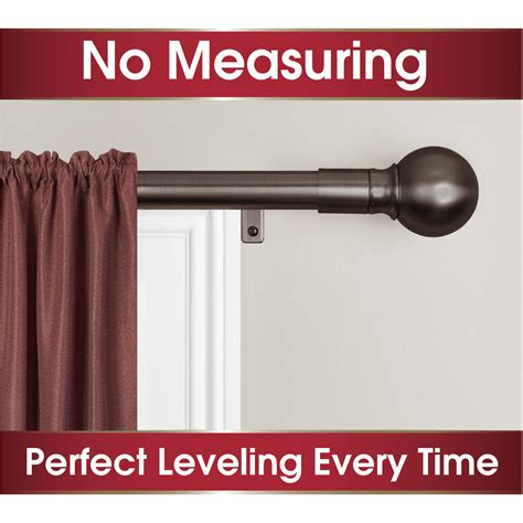 single curtain rod installation how to install levolor single curtain rod curtain