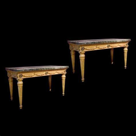console antiche coppia di console antiche con piani in marmo anticswiss