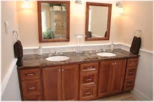 custom design build bath vanity cherry wood westchester ny