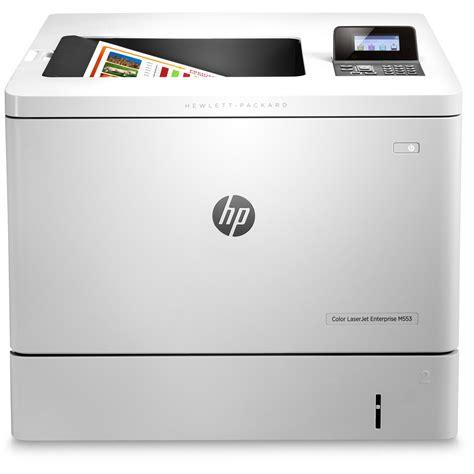 hp laserjet color printer hp color laserjet enterprise m553dn a4 colour laser
