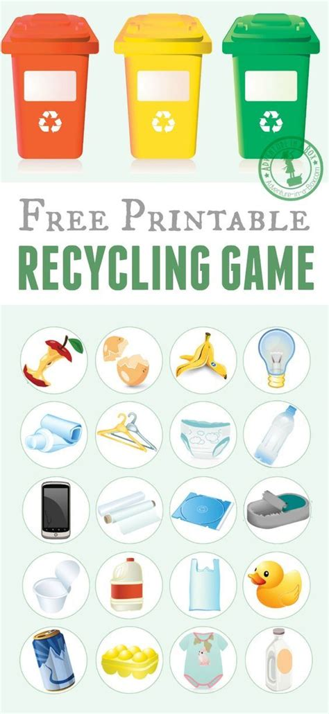 229 best project recycle create images on activities for crafts for printable recycling science activities recycling free printable