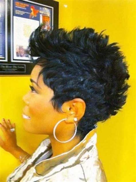 mohawk short hairstyles  black women short hairstyles