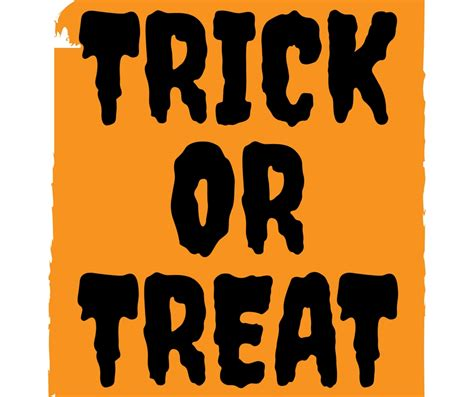 Trick Or Treat by Trick Or Treat Saying Image 2017 Inspiring Quotes And
