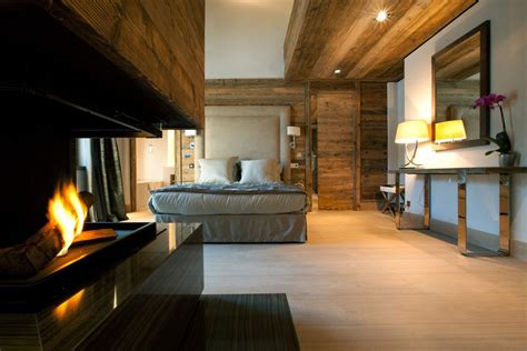 bedroom fireplace iced winter apartment by bo design