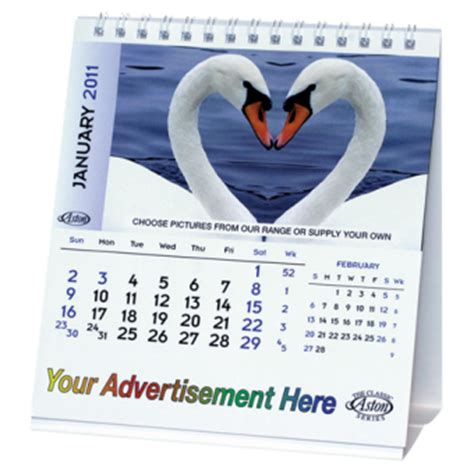 Calendar Types Desk Calendar Type A Promotional Plus Ltd