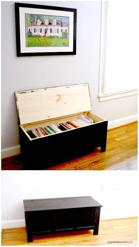 Trunk turned into Filing Cabinet #DIY #Organizing   Ideas