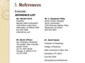 How To Write References On Resume by How To Write A Successful Resume Or Cv In