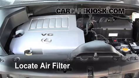Filter Udara K N Lexus Rx 350 3 5l V6 2010 2013 Kode 33 2443 2004 2009 lexus rx350 engine air filter check 2008 lexus rx350 3 5l v6