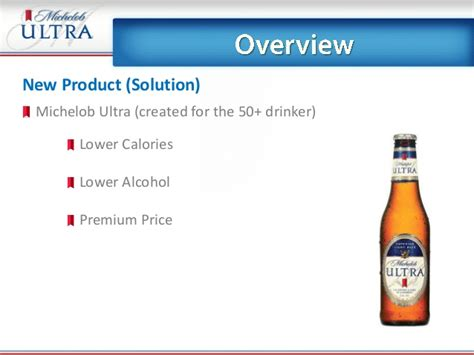 bud light vs michelob ultra what is the content in michelob ultra
