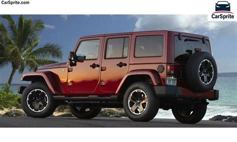 Jeep Wrangler Pricing Jeep Wrangler 2017 Prices And Specifications In Bahrain