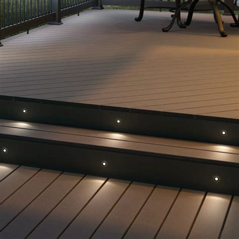 Outdoor Deck Light Recessed Lighting Recessed Deck Lighting The Great Ideas Of Recessed Step Lighting