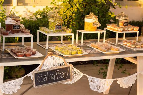 Backyard Taco Bar S Backyard Wedding Designed By Bobette Reality And