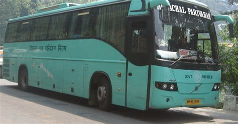 bus timings  bus schedule bus timings chandigarh  hamirpur himachal hrtc bus schedule