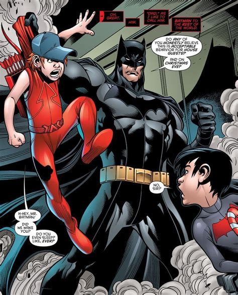 libro the official arsenal annual batman jason and roy what s this from they look too little to be dressed like red hood and