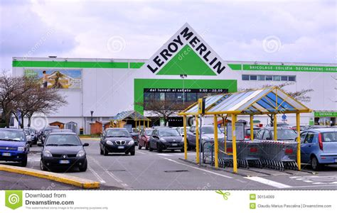 leroy merlin in italy editorial stock image image 30154069