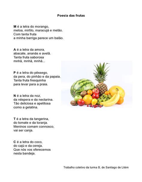 rimas con frutas rimas frutas adivinanzas de frutas o verduras rimas