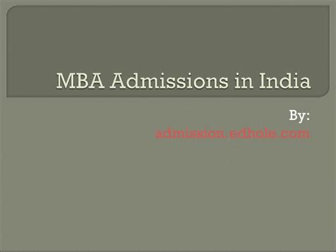 Mba In Indian Air by Mba Admission In India