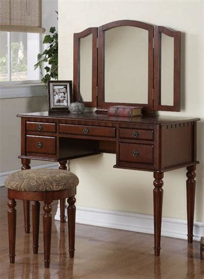 Makeup Tables With Mirror by Cherry Makeup Dressing Table Set Traditional Bedroom Makeup Vanities Orange County By