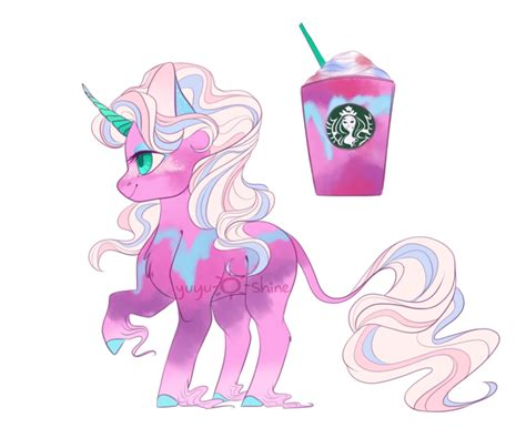imagenes de unicornios grandes starbucks unicorn frappe adopt closed by yuyusunshine on