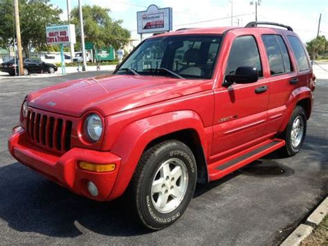 Jeep Liberty 2003 Type Purchase Used 2003 Jeep Liberty Limited Sport Utility 4