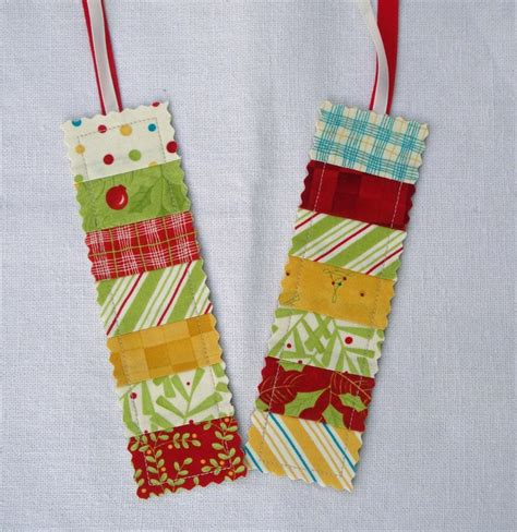 Quilted Bookmarks quilted bookmarks craft ideas