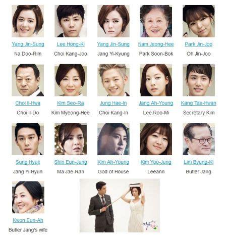nama pemeran film endless love korea profil dan foto pemain utama bride of the century