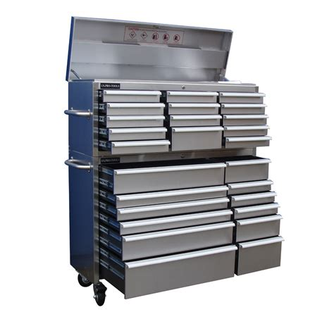 tool cabinets chests stainless steel tool cabinet us pro tools 54 quot wide