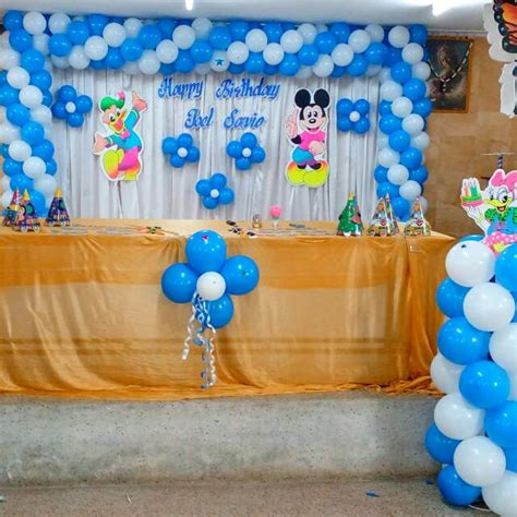 Birthday Party Balloon Decoration » Home Design 2017