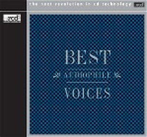 best audiophile voices various best audiophile voices premium records cd