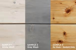 grey wood stain on pine