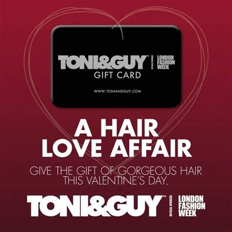 Toni Guy Gift Card - not sure what to buy that special someone who has everything this valentines day