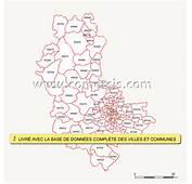 Carte Des Codes Postaux Du Rh&244ne