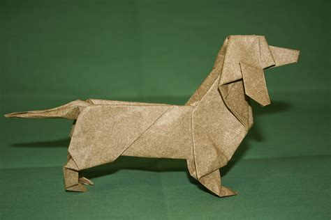 Origami Puppy - origami dogs by steven casey milk