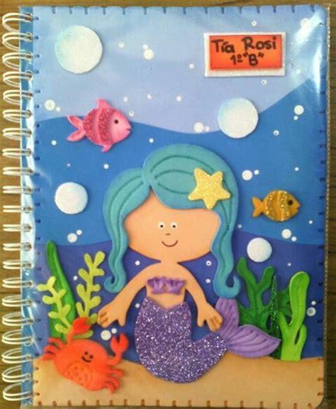 dibujos en foami para el aula libretas cuadernos carpetas decoradas personalizadas foami