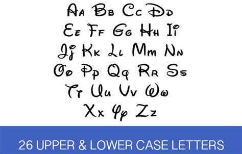 disney letter template 9 best alphabet fonts free premium templates