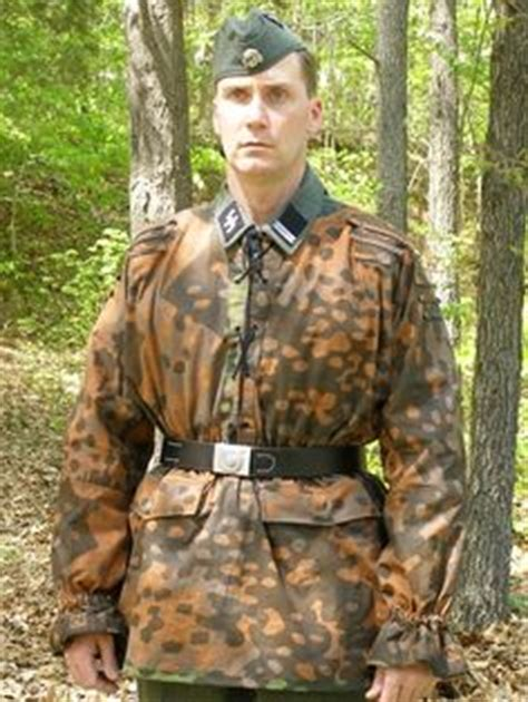 Camouflage Panther Blouse germany wwii smock camouflage varieties