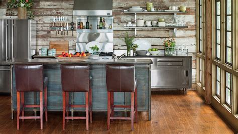 Modern Kitchen With Island by Stylish Vintage Kitchen Ideas Southern Living