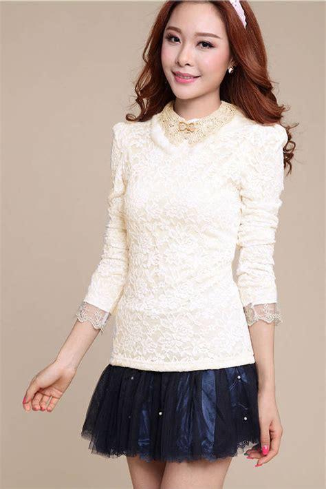 Baju Atasan Import Baju Atasan Wanita Brokat Cantik Import Model Terbaru