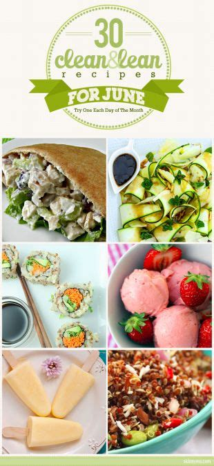 7 Recipes For Cleaners by 30 Clean Lean Recipes Lean Recipes Cleaning And Recipes